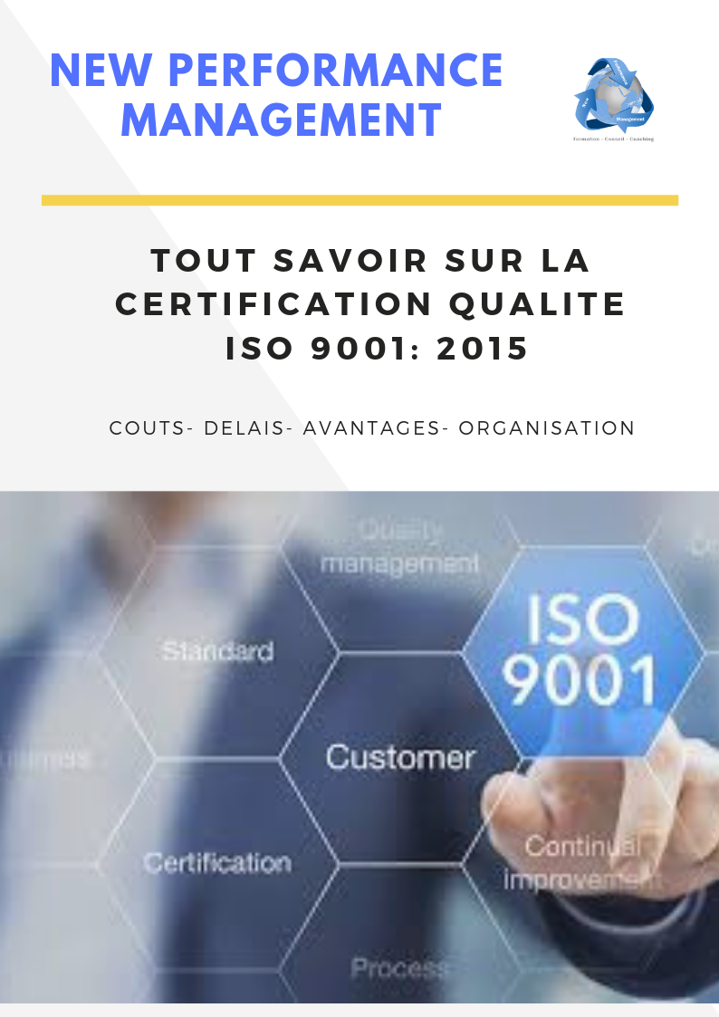 1 2 - Accompagnement certification Qualité Norme iso 9001 à Tanger