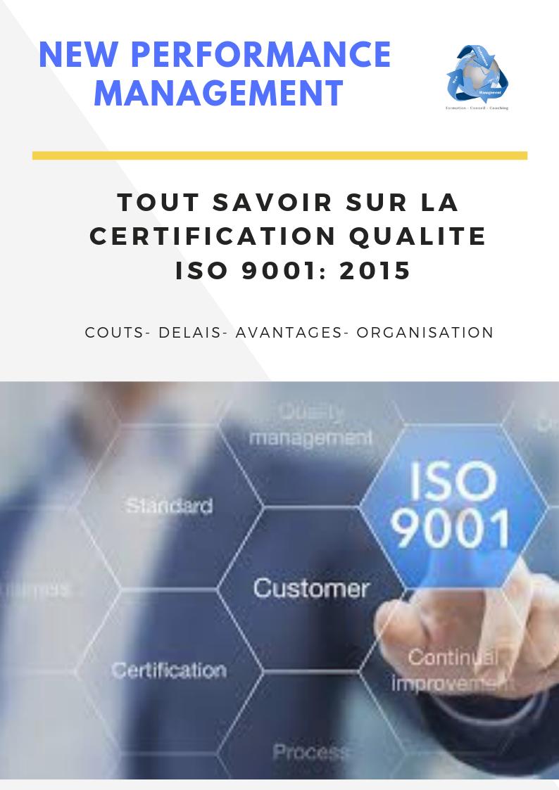 1 3 - Accompagnement certification Qualité Norme iso 9001 à Rabat