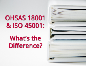 Migration OHSAS 18001 vers ISO 45001