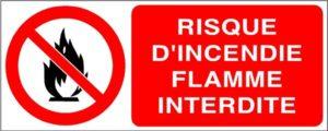 I Grande 2865 risque d incendie flamme interdite stf 3407s.net  300x120 - Formation SST évacuation incendie au Maroc
