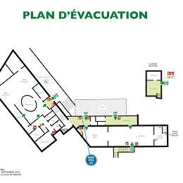 évacuation incendie