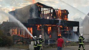 les causes d'incendie
